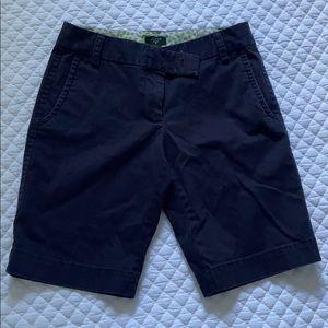 Jcrew Blue Bermuda Shorts